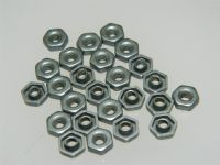 "25 x 4-40"" UNC Nuts Locking Six Point Kaynar Aircraft Style Part AS8601-A [H2]"